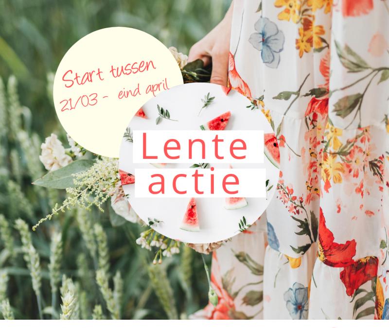 Lente-actie: start in de lente en straal in de zomer!